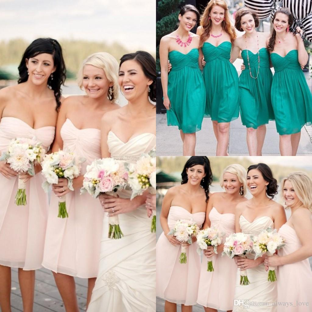 Light pink hunter colour short bridesmaid dress chiffon formal light pink hunter colour short bridesmaid dress chiffon formal maid of honor dress for wedding party gown charcoal bridesmaid dresses cute bridesmaid ombrellifo Images