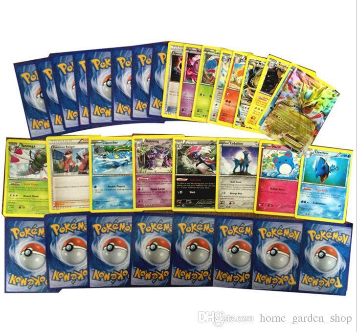 Großhandel / Kasten Poke Trading Card Spiele Pokest Monster Karten ...