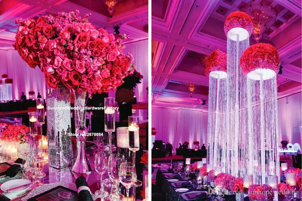 ментальное железо труба оптом стол утюг вазы для свадьбы центральные украшения