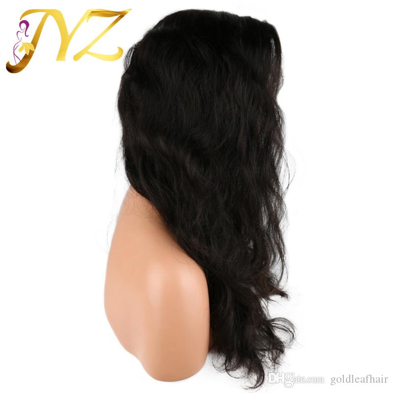 Big Body Wave Full Lace Wigs Peruvian Lace Front Wigs