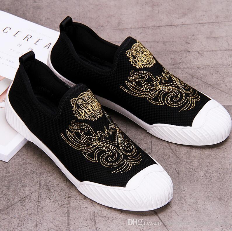 Sri Lanka Flag Breathable Fashion Sneakers Running Shoes Slip-On Loafers Classic Shoes