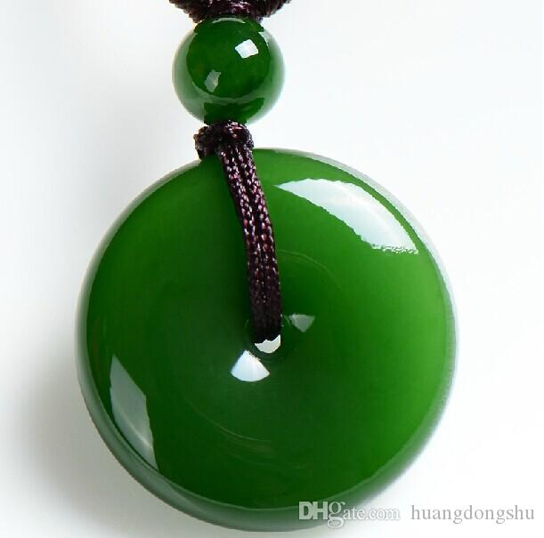 Wholesale xinjiang jade peace clasp pendant spinach green jade wholesale xinjiang jade peace clasp pendant spinach green jade pendant with men and women peace buckle love necklace diamond heart necklace from mozeypictures Choice Image