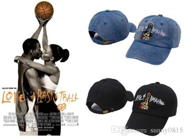 1fe1178b0f3 Black Love   Basketball Movie Dad Hat OG 90s Vtg Retro Style Baseball Cap  Bone Swag Casquette Hats For Men Women Gorras Drop Shipping Kids Hats Ball  Caps ...