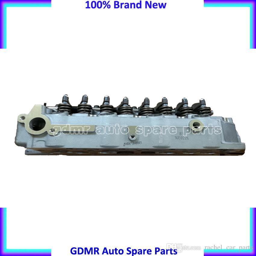 Complete D4BA D4BAT D4BH 4D56-T 4D56 cylinder head AMC 908 613 for Hyundai H1 H100 Galloper Exceed or Mitsubishi Montero Pajero L300 2476CC
