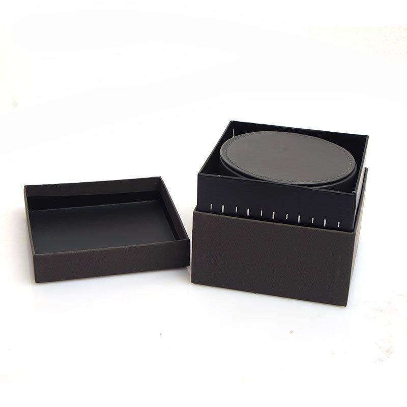 Orologi rotondi di lusso Scatole in pelle Scatole regalo in pelle Scatole orologi Orologi da uomo glitter2009