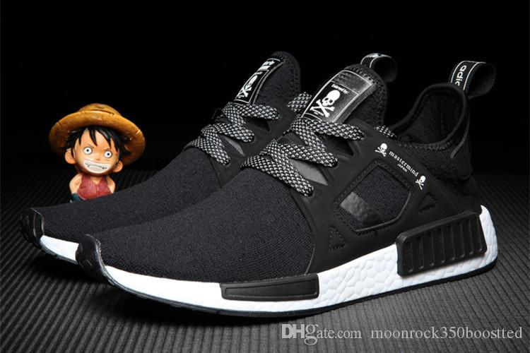 5bcfec1b2bc10 2016 NMD XR1 X Mastermind Japan Skull Men S Casual Running Shoes For  Original Quality Black Red White Boost Fashion Sneakers Size 40 44 Running  Accessories ...
