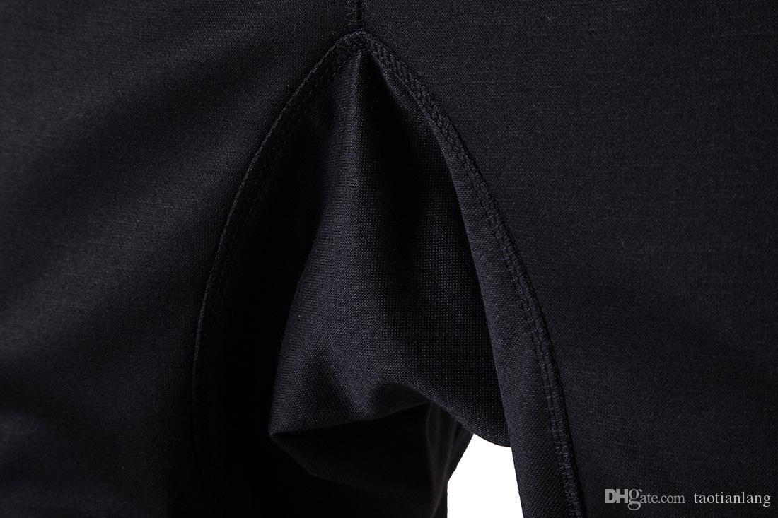 Корейский Мужская Мода Брюки Хип-Хоп Спортивный Костюм Jogger Брюки Chinos Тощий Бегунов Шаровары Тренировочные Брюки Мужчины Брюки T170727