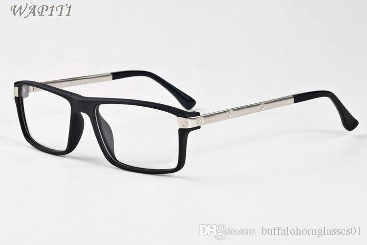 3e5c215296 Black Buffalo Horn Glasses Sunglasses For Women 2017 Santos De Luxury Mens  Designer Sunglasses Big Cheap Shades Lunettes Vintage Sunglasses Super  Sunglasses ...