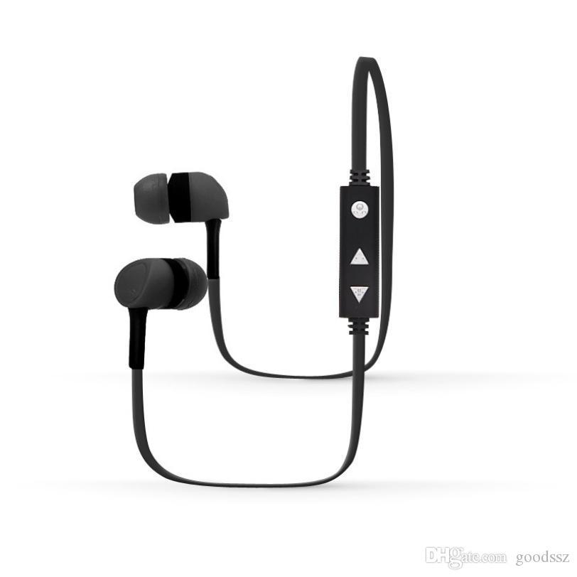 BT12 스포츠 블루투스 무선 헤드셋 V4.1 스테레오 헤드폰 이어폰 소음 유니버설 스포츠 Handfree 마이크와 iPhone7 삼성 취소