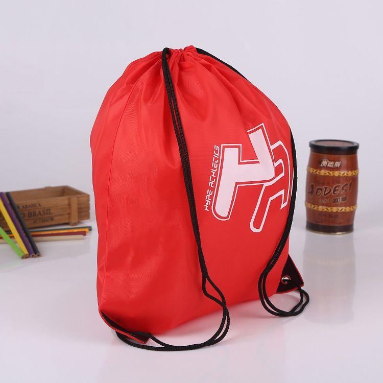 تخصيص أكياس البوليستر الرباط حقائب طباعة شعار ماء الرباط أكياس تخزين التسوق التخصيص