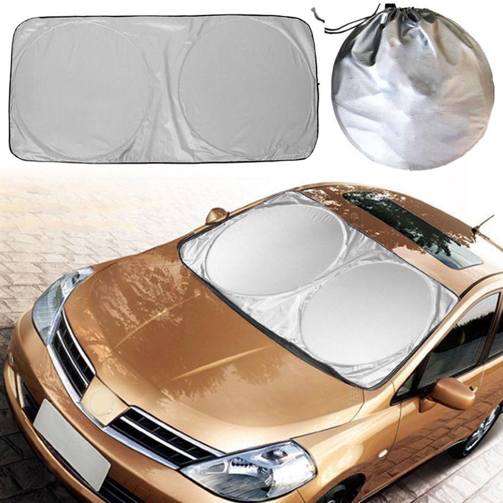 Wholesale 1 X Car Cover Auto Sun Shade Sun Protection Car Windshield Visor  Double Ring Sun Block Custom Auto Shade Windshield Sun Shades Custom Auto  ... b14391686cb