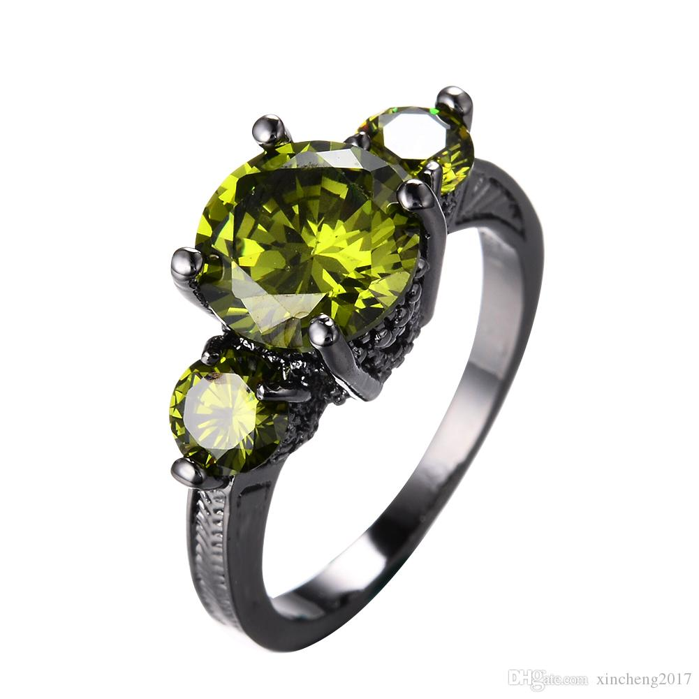 small sterling peridot exclusivity rings wedding product ring by sterlin silver