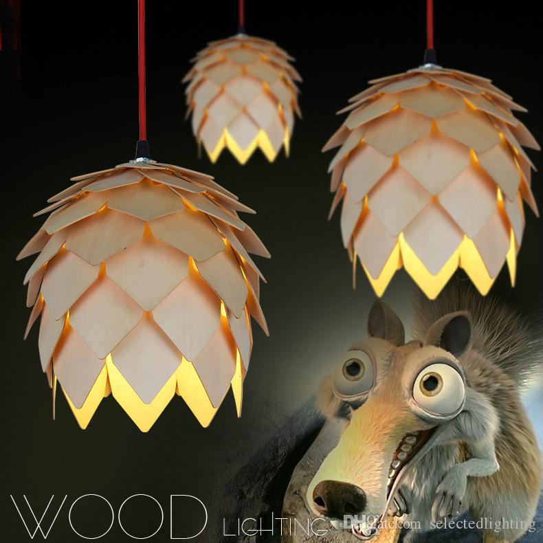 Modern Wood Lamp Denmark Louis Poulsen PH5 Pendant Lamp Bedroom Lamp Office Living Room Pendant Light Fitting