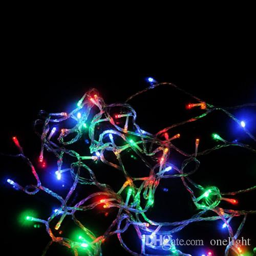 Multicolor Outdoor Decoration Lamps Led String Lights With Tail Plug