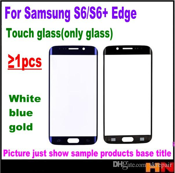68ad91f6198 2019 OEM Front Outer Glass Lens For Samsung Galaxy S6 Edge G9250 G925 G925F  Edge+ G9280 Repair Parts Replacement Touch Screen Glass From Skrepair, ...