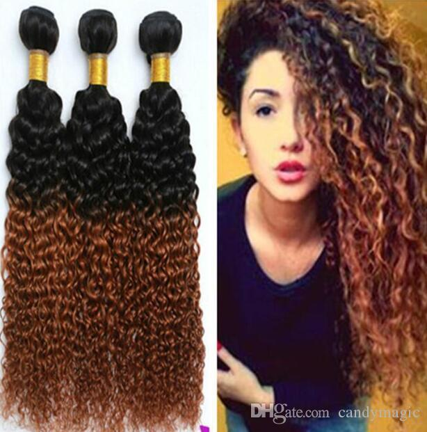 Cheap ombre cheap hair extensions brazilian kinky curly hair human cheap ombre cheap hair extensions brazilian kinky curly hair human weave curly 2 tone ombre brazilian 1b30 hair bundle hair extensions weft uk cheap hair pmusecretfo Image collections