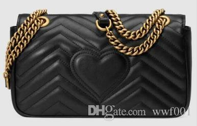 Classic Leather black gold silver chain hot sell 2017 new women bags handbags shoulder bags tote bags messenger