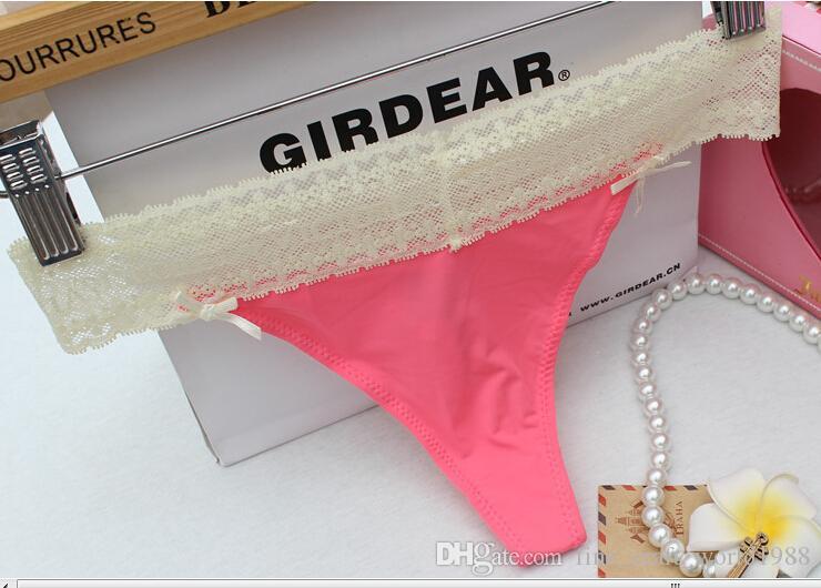 Novos Modelos Sexy Thong Victoria Calcinhas para As Mulheres Sem Costura Cueca Calcinha Sexy G-string Briefs