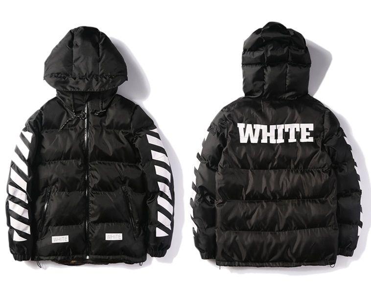 2017 Wholesale Off White Winter Jacket Men Parka High Quality ...