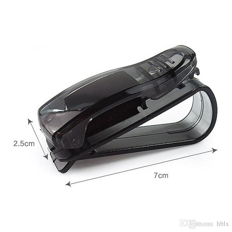 Recién llegado Auto Auto Sun Visor Clip Holder para gafas de lectura Gafas de sol Eyeglass Card Pen CDE_002