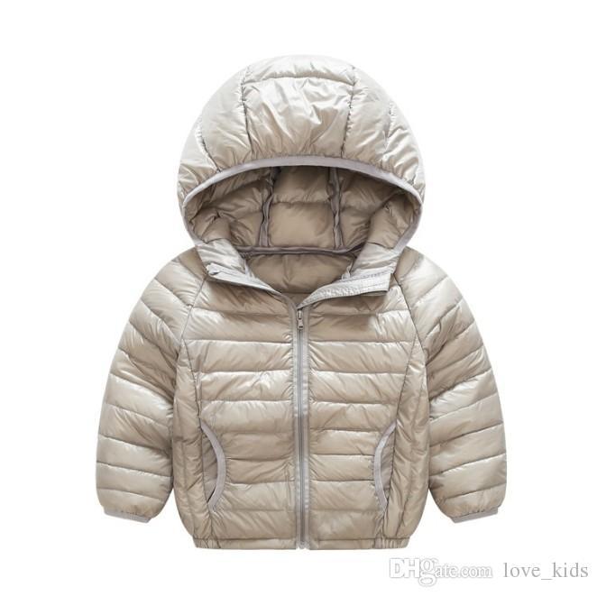 Hot winter boys girls jacket snow treasure cartoon coat cotton-padded clothes cotton-padded clothes children's coat Kid light down jacket