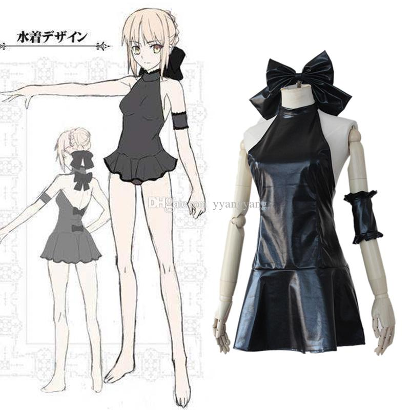 fatestay night anime fate zero saber lily swimwear