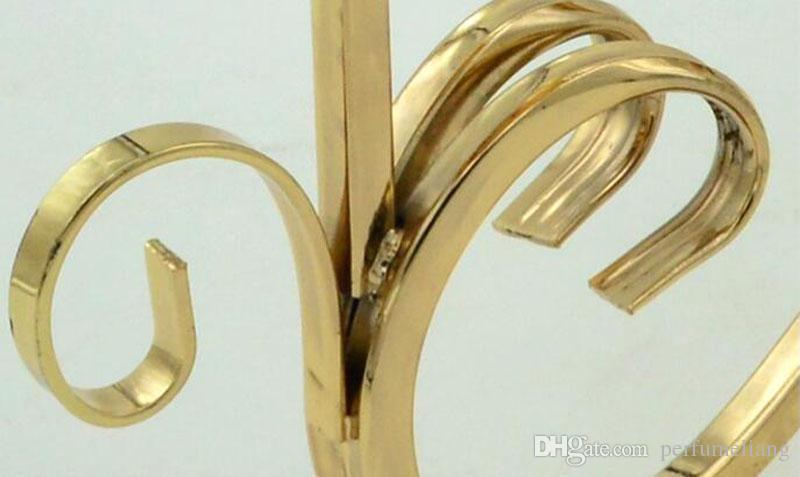 Металлические позолоченные подсвечники 3-руки с кристаллами 42CMx36CM стенд столб подсвечник для свадебного декора канделябры ZA3892