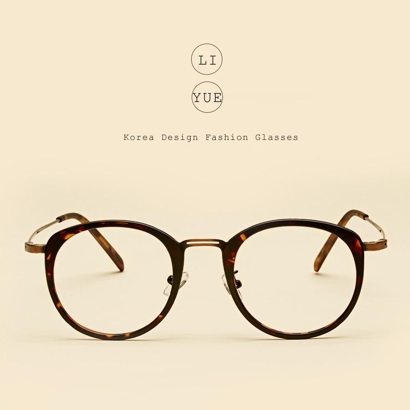 f1b3bdbc2a5 Wholesale- LIYUE Vintage Optical Eyeglasses Frame Women Round ...