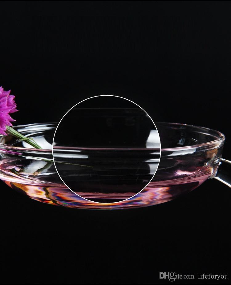 Candelabros difusor de aromaterapia para la decoración de banquete de boda de cristal pyrex decoración del hogar decoración regalos de boda para invitados