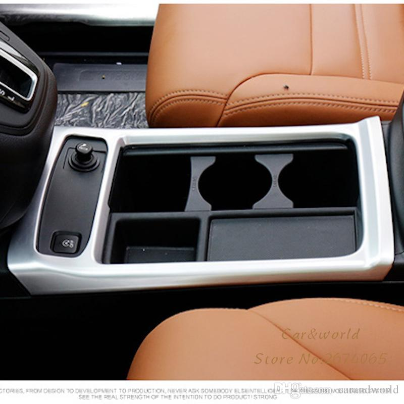 2018 For Honda Crv Cr V 2015 2016 Car Interior Center Consoles Water Cup  Pannel Cover Molding Trim Abs Chromed Decoration Car Styling Accessories  From ...
