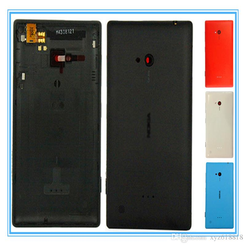 Original New Replacement Back Battery Door shell for Nokia Microsoft Lumia 720 N720 Back Housing Cover Case Replacement Parts