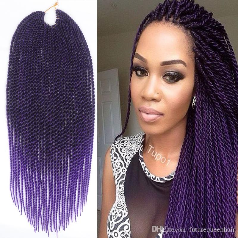Purple Senegalese Twist | www.pixshark.com - Images