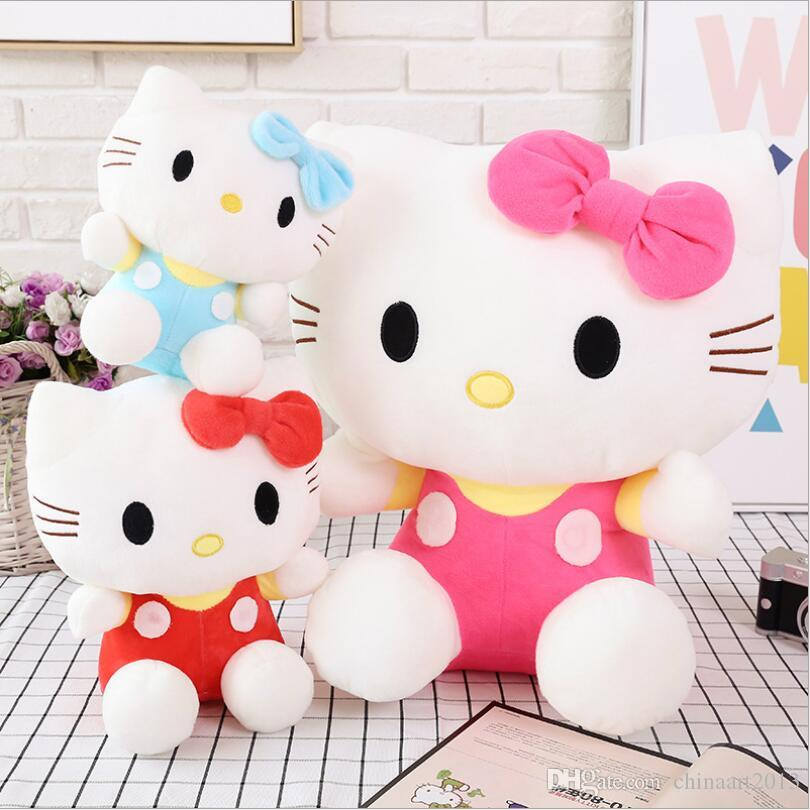 2019 Hot Sale New Big Hello Kitty Stuffed Animals Toys High Quality