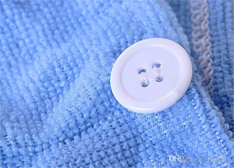 De alta Qualidade Microfibra Secagem de Cabelo Secagem Turbante Enrole Toalha Chapéu Cap Quick Dry make up towel 1000 pçs / lote IC905