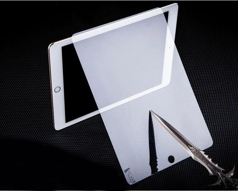 0.4mm 9h 강화 유리 스크린 프로텍터 ipad 2에 대 한 안티 균열 폭발 태블릿 PC 가드 3 3 4 5 6 공기 2 미니