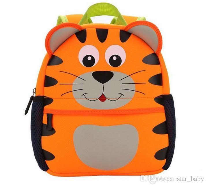 대형 유치원 schoolbag 아기 만화 동물 배낭 어린이 어깨 길이 어린이 학교 가방 다크 가방 지퍼 배낭 B4700