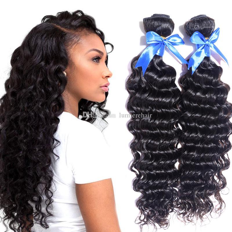 4 Bundles Mongolian Deep Curly Hair Extensions Mongolian Deep Wave