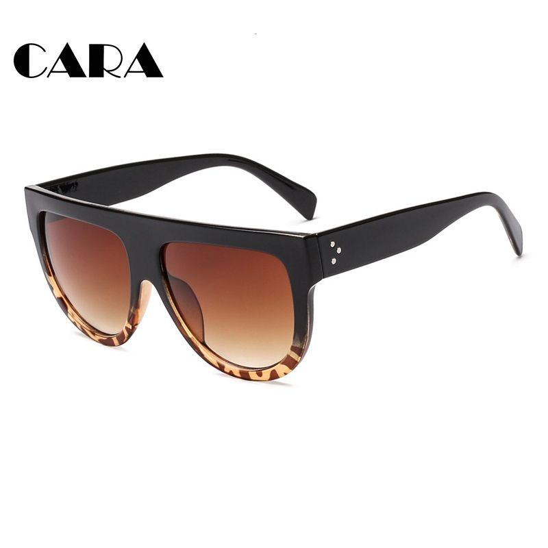 6bf135542bb Compre Cara Nuevo es Oversize Square Frame Sunglasses Mujeres Para Hombre  Black Box Sun Glasses Espejo Polarizado Gafas De Sol De Moda A  11.93 Del  ...