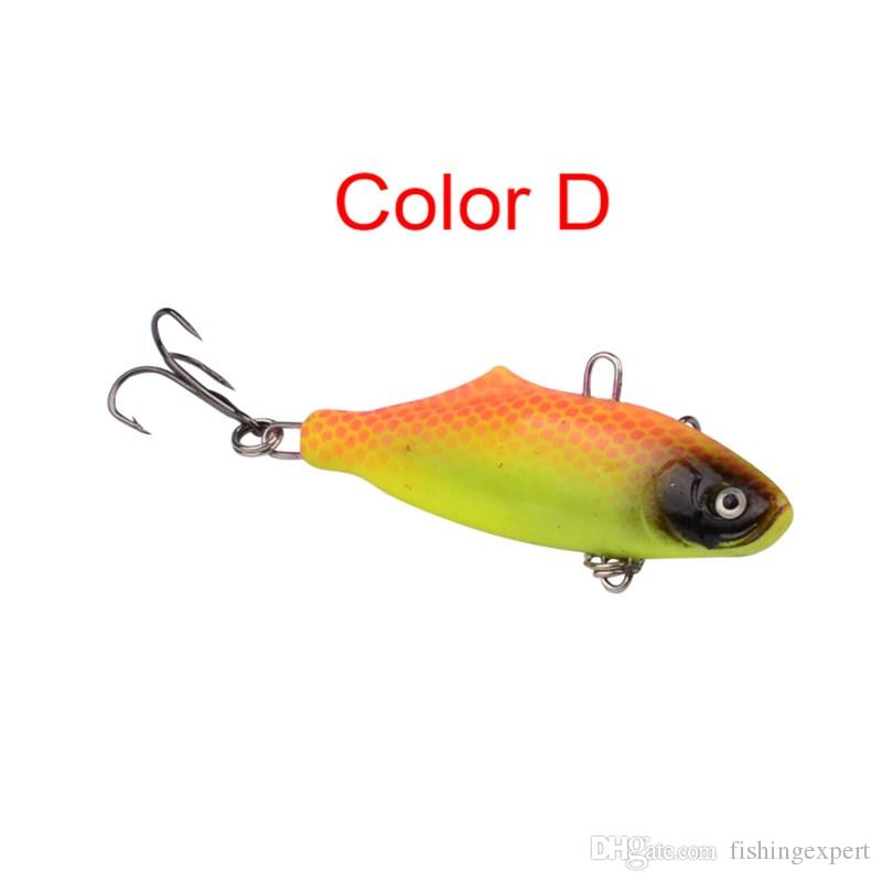 Jigging Fishing Lures 6.3cm Jig Leads Soft Baits 15g Small Shad Lifelike Lure for Saltwater or Freshwater