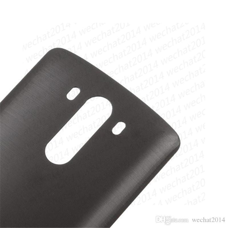 100% nuovo indietro batteria coperchio posteriore alloggiamento vetro sostituzione LG G2 D850 D851 D855 LS990 VS985 DHL libero