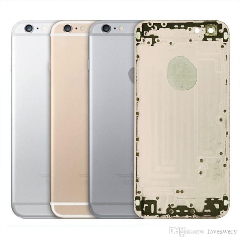 JOEMEL 100% Genuine High Quality Housing Back Battery Door Cover Complete Assembly For iPhone 5G 5S 6 6G 6S 7 7G plus