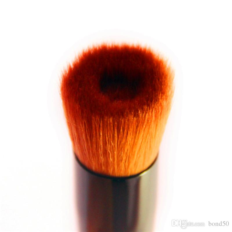 café oblíqua cabeça escova fundação pincel solto escova de tinta de nylon punho de madeira Atacado EMS DHL B01009