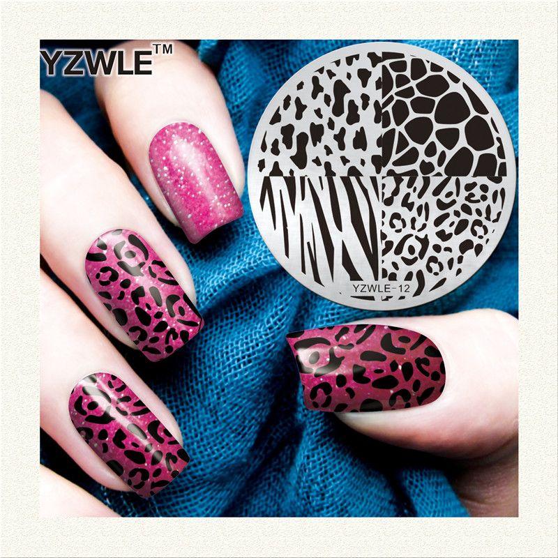 Wholesale Yzwle 1 Sheet Stamping Nail Art Image Plate, 5.6cm ...