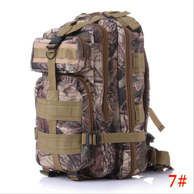 NEW High Quality 30L Hiking Camping Bag Military Tactical Trekking Rucksack Backpack Camouflage Molle Rucksacks Attack Backpacks