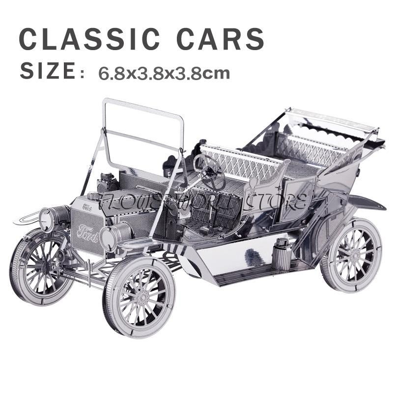 Wholesale New Creative Retro Car 3d Puzzles 3d Metal Model Creative ...