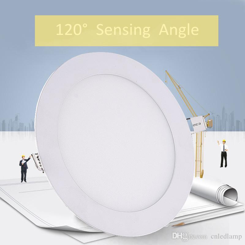 15W di 18W LED del radar del sensore della lampada di pannello calda di vendita LED intelligente luce di soffitto alto lumen sensore LED da incasso con 2 anni di garanzia