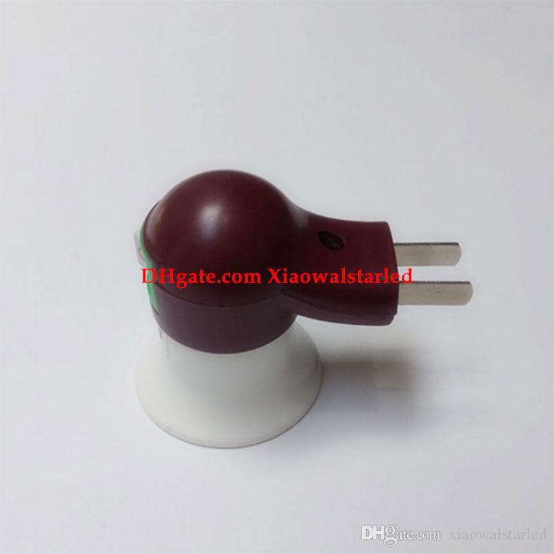 Parede suporte da lâmpada E27 parafuso com base de luz soquete com soquete da lâmpada lâmpada móvel tomada de parede