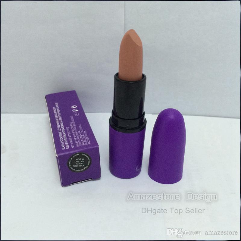 2016 New Selena Collection LIQUID Matte Lipstick Lipstick Amor Prohibido MATTE LIPSTICK Selena box DHL