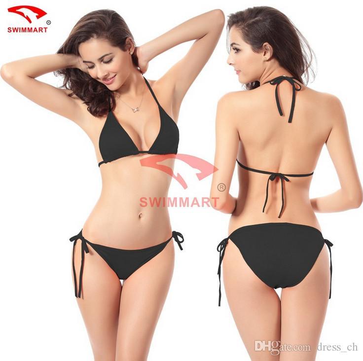 Womens Swim Sexy Lingerie Swimsuit Swimwear Summer Beach Bikini Set Bathing Suit Top Bra + Bottom