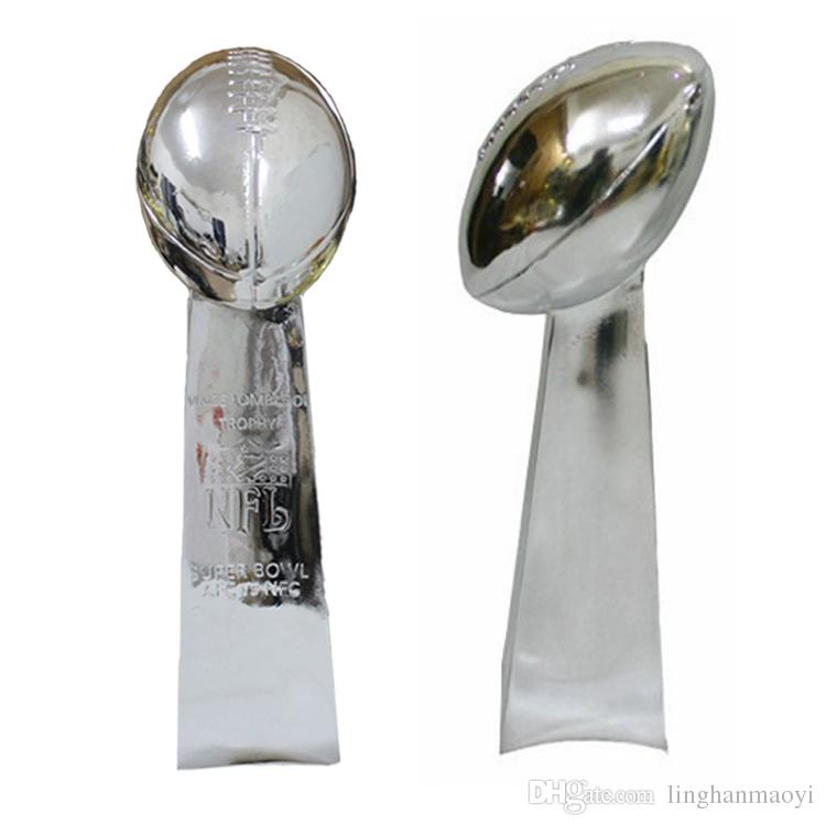 2018 High Qualityamerican Football Trophy 33cm Vince Lombardi Replica Super Bowl Rugby From Linghanmaoyi 18091